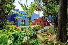 Un plus - AD España, © Belén Imaz En 1937, cuando León Trotski se instaló en la Casa Azul, Frida y Diego ampliaron el jardín para garantizar su seguridad.