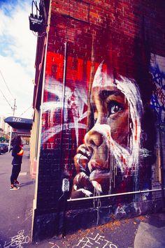 The Amazing Street Art of Fitzroy - Melbourne, Australia
