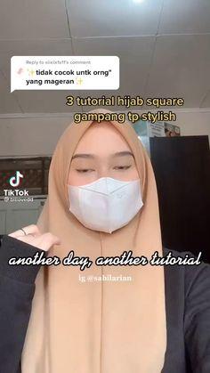 Pashmina Hijab Tutorial, Hijab Style Tutorial, Casual Hijab Outfit, Hijab Chic, Diy Fashion Hacks, Fashion Tips, Video Hijab, Simple Hijab, Hijab Fashion Inspiration