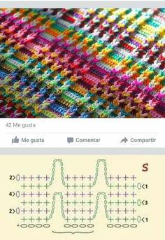 4 Crochet Tips to Remember Crochet Afghans, Crochet Dishcloths, Crochet Stitches Patterns, Stitch Patterns, Crochet Diagram, Crochet Chart, Crochet Motif, Knit Crochet, Popular Crochet