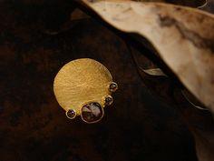 [Ancient Delusion : 002] Ring-K18YG/Diamond 0.62ct