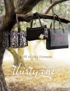 Thirty-One bags--adorable, functional, & MONOGRAMMED!