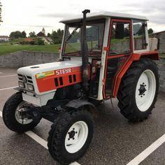 Steyr 8055 Traktor, Baujahr 48 PS, Hinterradantrieb, Höchstgeschwindigkeit 25 km/h Steyr, Ps, Vehicles, Agriculture, Photo Manipulation, Vehicle