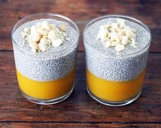 MANGO CHIA PUDDING (Recipe below)  Make sure to participate on giveaway contest which we are running right now. Visit us now @goforlife_se ---=-=-=-=-=-=-=-=-=-- Awesome Recipe By: @ashley_neese ---=-=-=-=-=-=-=-=-=-- Ingredients:  --=-=-=-=-=-- 1 & 1/2 c. frozen mango 1 c. water 1 c. hemp milk (1 c. water blended with 2 Tbsp. hemp seeds no need to strain) 2 pitted dates 1/4 c. chia seeds 1/4 tsp. ground vanilla 1/2 c. raw macadamia nuts Method:  --=-=-=-=-- 1.Start blending the mango with…