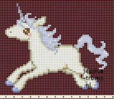 59 Free cross stitch designs horses
