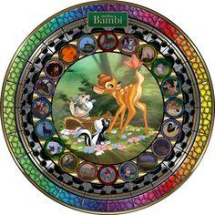 Masterpiece Bambi Stained Glass by on DeviantArt Disney Love, Disney Magic, Disney Pixar, Disney Animation, Walt Disney, Disney Characters, Disney Stained Glass, Stained Glass Art, Tarzan