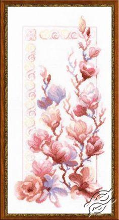 Magnolia - Cross Stitch Kits by RIOLIS - 1278