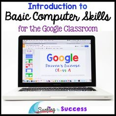 """Want to get started using digital resources in your classroom? Help your students gain the background technology skills they need to learn and complete online assignments.Students work to earn their """"Google Driver's License"""". Students will learn and practice over 80 skills with step by step instructions, screenshots, and tutorial gifs (short moving pictures)."""