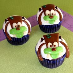 OH MY GOSH... Are these the cutest or what???! I love Goofy! Definitely makin these!!! :) What an adorable idea!!!