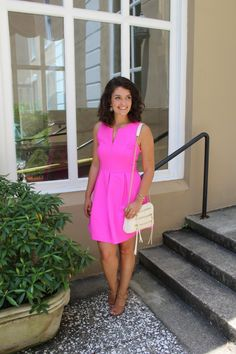How 2 Wear It - pink dress - semi formal outfit