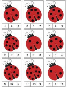 ladybug counting activity More on math and learning in general zentral-lernen.de Source by tinkerbel Counting Activities, Preschool Learning Activities, Preschool Activities, Space Activities, Math Games, Activity Games, Numbers Preschool, Kindergarten Math Worksheets, Montessori Activities