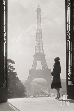 Paris 1928 Art Print by Hugo Wild at eu.art.com