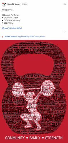 #CrossFit #CrossFitVoiron #Wod                                                                                                                                                                                 Mais