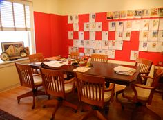 Mary Engelbreit Studios while being rearranged/redesigned in 2011.