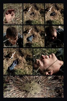 """""""Lazarus Rising"""" Season 4 #supernatural Dean coming up from the dead."""