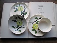 Hey, I found this really awesome Etsy listing at https://www.etsy.com/listing/118906416/vintage-dishes-dixie-dogwood-single