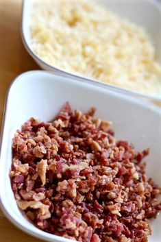 Grown up mac and cheese is nothing like the stuff you make from a box! The made-from-scratch cheese sauce, bacon, and baked cheese topping make it gourmet! Smoked Gouda Cheese, Cheddar Cheese, Baked Cheese, Mac And Cheese, Large Oven, The Dish, Casserole Dishes, Pasta Recipes, Bacon