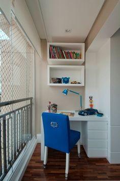 Decor: Escritório na varanda!
