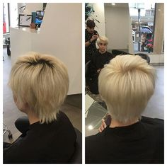 OLAPLEX working it's magic  Minor transformation but we were able to eliminate all those strong yellow tones and go for a more subtle nude blonde.  #olaplexportugal #olaplex #transformation #clients #happy #slash #hair #salon #lisbon #colour #blonde #blonder #magic