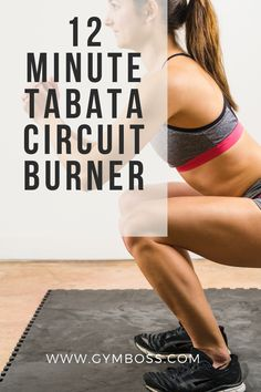 Done properly, Tabatas are brutal. Tabata training is one of the most intense, time-efficient ways you can work out. Give this 12 - 18 minute circuit a try today!