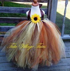 Scarecrow Tutu Dress or Scarecrow Costume for by TutuVillageTutus