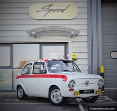 Classic Fiat 850 Abarth Recreation