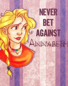 Never bet against Annabeth. And that is how you keep your money, kids. Annabeth Percy Jackson, Percy Jackson Fandom, Solangelo, Percabeth, Dry Sense Of Humor, The Lightning Thief, I Have No Friends, Wise Girl, Seaweed Brain
