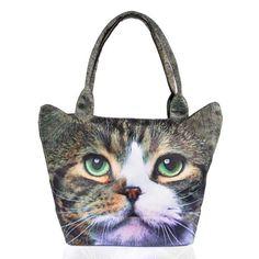 Kissa Kangaslaukku | Cybershop