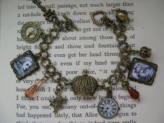 Alice in Wonderland Steampunk bracelet