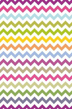 Rainbow chevron wallpaper❤