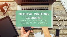 "online medical writing course Free webinar by emma hitt nichols, phd ""freelance medical writing — a lucrative work-from-home career choice"" for people with a science background who want a."