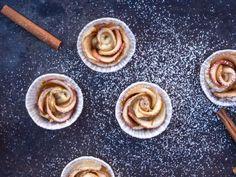 Edle Küchlein: Apfelrosen-Muffins