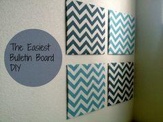 Bulletin Board DIY
