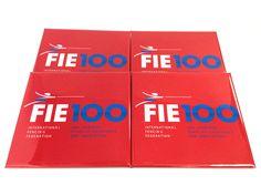 Modern City : Badges pour la FIE : Fédération Internationale d'Escrime (International Fencing Federation)