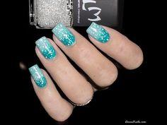 Youtube : Tutoriel Nail Art Gradient + Skin Protect • LizanaNails