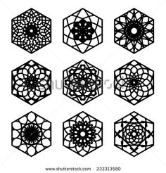 Hexagon Tattoo Stock Photos, Images, & Pictures – (151 ...