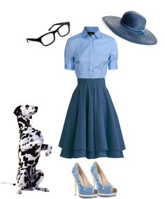 """""""Disney inspired outfits: Anita (101 Dalmatians)"""" by melissa-rose-723 on Polyvore"""