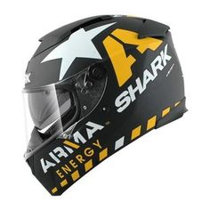 Black/Yellow/White Shark Speed-R Redding Replica Helmet http://www.revzilla.com/motorcycle/shark-speed-r-redding-replica-helmet
