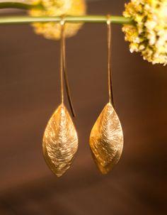 Holly Earrings Gold $18
