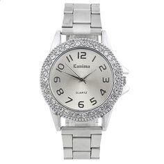 cc4299eb2745 Le nuove donne classiche di modo 2017 guardano gli orologi di lusso dell' acciaio inossidabile