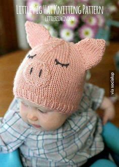 84c94ab139d Baby Hat Knitting Patterns Free