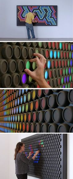 Everbright: A Giant Interactive Light Toy That's Like a Lite-Brite for Grown-Ups