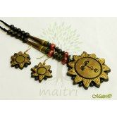 handmade-antique-terracotta-jewelry-medium-big-set-tsh334 www.maitricrafts.com https://www.facebook.com/maitricrafts.maitri
