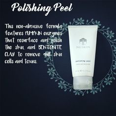 Polishing Peel Clinical SKIN CARE without the clinic. #naturalpeel  #equivalenttomicrodermbrasion #allnatural  #nuskinph
