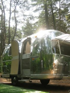 Would You Live in an Airstream? >> http://www.hgtvremodels.com/interiors/small-homes-on-the-move/index.html?soc=pinterest