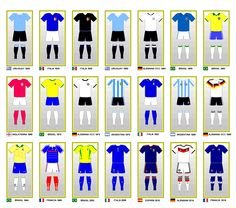 FIFA World Cup Uniforms Final Champions