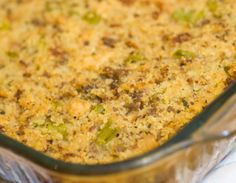 Southern Cornbread Dressing - modified from Paula Deen's recipe. This is the absolute best dressing I have ever tasted. Will only make this recipe from now on.