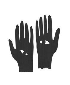 Hands Eye Black Art Print by Mambo Art - X-Small tattoo Hand Kunst, Motifs Textiles, Eye Illustration, Art Brut, Hand Art, Eye Art, Copics, Art Inspo, Design Art