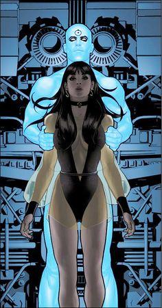 Before Watchmen comic book lot Dr Manhattan 1 Silk Spectre 3 & 4 DC Comics Comic Book Artists, Comic Book Characters, Comic Book Heroes, Comic Artist, Comic Character, Comic Books Art, Adam Hughes, Hq Marvel, Marvel Dc Comics