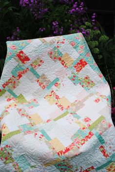 So sweet, there is a special place in my heart for beautiful baby quilts thanks to my grandma.